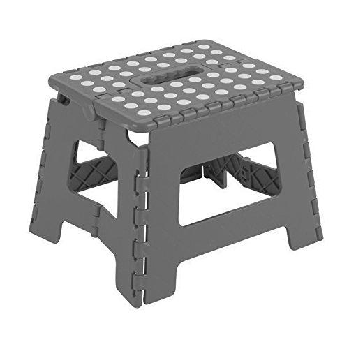 Arregui TB-039-G - Taburete plegable 29x22x39cm gris