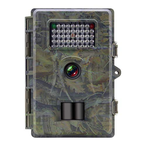 GLJJQMY wasserdichte Wildkamera Falle 12MP Outdoor Live Family Sicherheit 1080P Cam Infrarot-Bewegung Aktivieren Nachtsicht IP66 Field Capture