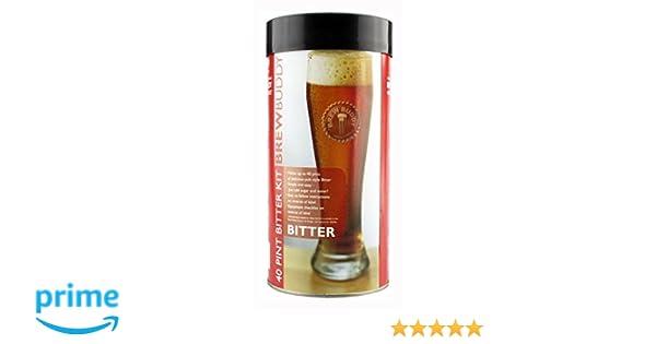 Home Brew Ingredients - Brewbuddy Bitter Refill - 40 Pint