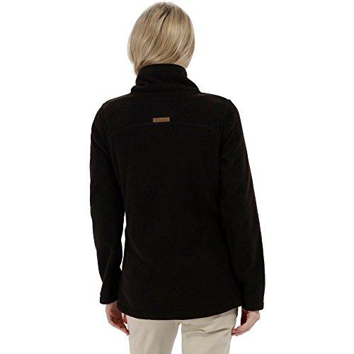 Regatta Damen fayona Fleece Jacke schwarz