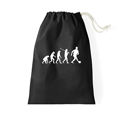 Borsa Da Ginnastica Di Coccodrillo Evolution Football Goalie Sports Fun Black Bag Da Donna Gymsack Football Nero