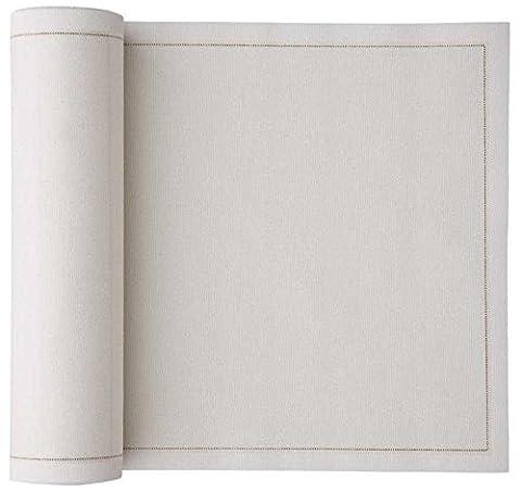 Cotton Luncheon Napkin - 7.9 x 7.9 in - 25 units per roll - Ecru