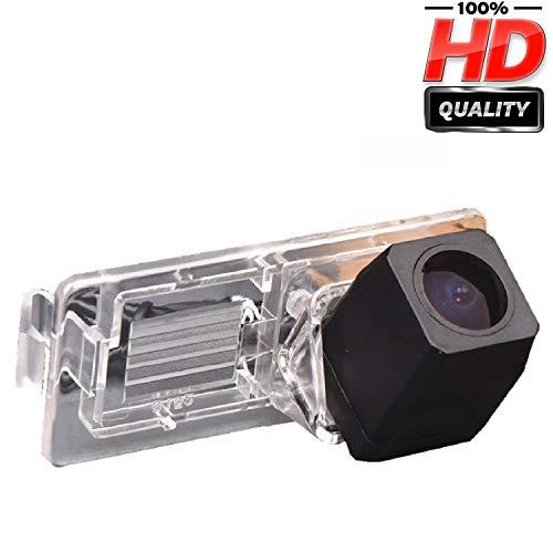 Farb Rückfahrkamera integriert in die Nummernschildbeleuchtung LED Kennzeichenbeleuchtung Kamera mit Distanzlinien für Renault Megane 2 II 3 III Espace 4 Clio 3 Lutecia ≤2012
