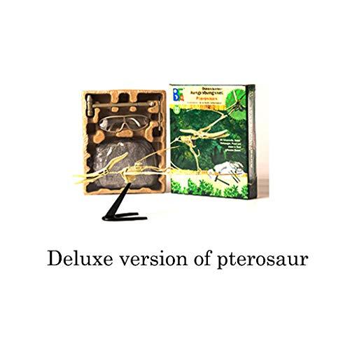 Auto-Modell Plüsch Bildung Squishy Spielzeug aufblasbares Spielzeug im Freien Spielzeug,Dinosaurier-Wissenschafts-Kit - Graben Sie Dino-Fossilien auf und montieren Sie Aushub-Spielzeug für Kinder