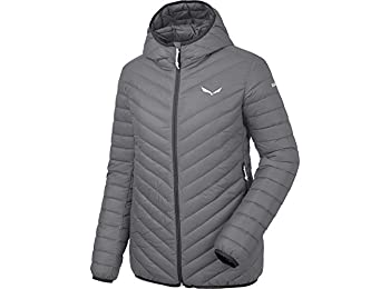 Salewa Women's Lagazuoi 3 Dwn Track Jacket, Quiet Shade/0730, 44/38