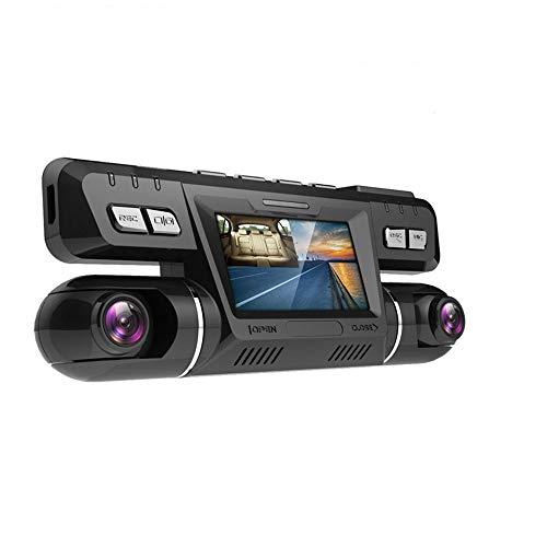 YYANG Dash Cam 4K WiFi GPS Dash Cams Für Autos Vorne Und Hinten Dual 170 Grad Weitwinkel 360 ° Drehbare Autokamera