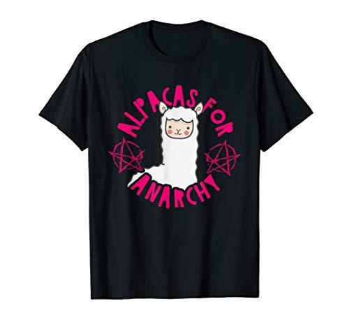 Alpakas für die Anarchie T-Shirt (Anarchie-shirt Für Frauen)