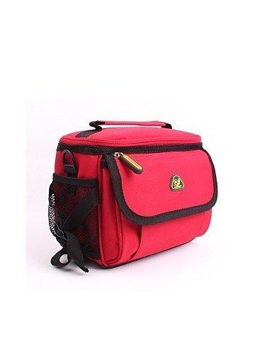 ZQ Kamerataschen / Fahrradlenkertasche Camping & Wandern / Legere Sport / Radsport Für Alles Handy ( Wasserdicht / tragbar , Rot / Blau ,70D Red