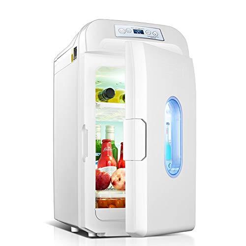 LSX - Kühlschrank Auto Refrigerator-35L Große Kapazität Mini Auto Kühlschrank Tragbare Heiße und Kalte Dual-Use-kleinen Kühlschrank Dual-Core-Kühlung Digitalanzeige Temperaturregelung 12 V / 24 V / 22 -