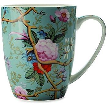 Ambiente Große Porzellan Tasse Becher Teetasse Mug 0,4 L