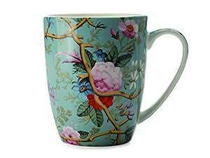 Maxwell & Williams WK05400 Kilburn tazza, tazza di caffè, tazza, Giardino in stile vittoriano, in confezione regalo, porcellane
