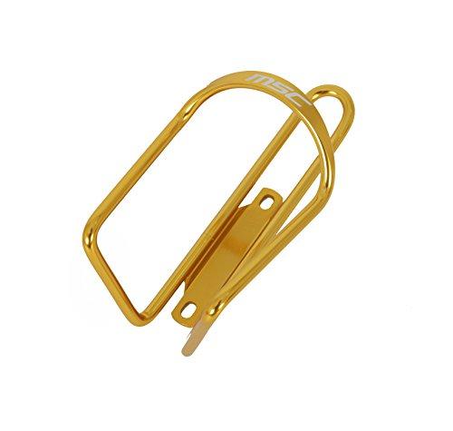 Porte bidon aluminium anodisé jaune