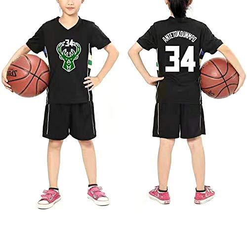 FILWS Jersey # 34 Alphabet Bruder Giannis Antetokounmpo Basketball Kleidung Kinder Basketball Uniform Set Männer Und Frauen Kinder Trainingskleidung