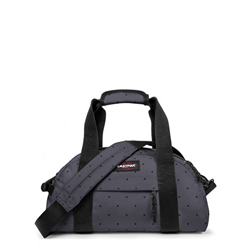 Eastpak Compact Borsone, 23 Litri, Viola (Purple Jungle), 46 cm Grigio (Dot Grey)