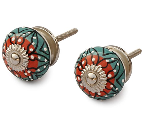 Prime Discount on SouvNear Set of 2 Interior Round Knobs and Pulls...