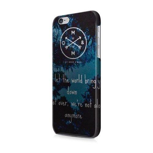 Générique Appel Téléphone coque pour iPhone 5 5s SE/3D Coque/ONCE UPON A TIME SEASON 3/Uniquement pour iPhone 5 5s SE Coque/GODSGGH703733 OF MICE & MEN - 011