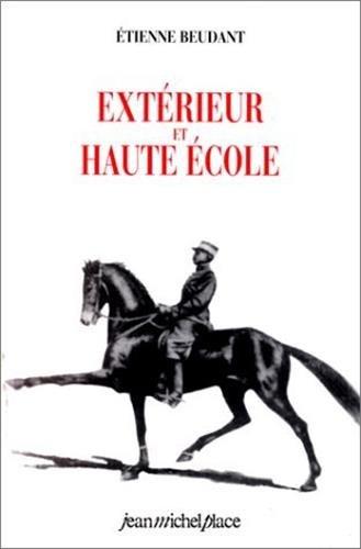 Extérieur et haute école par Etienne Beudant