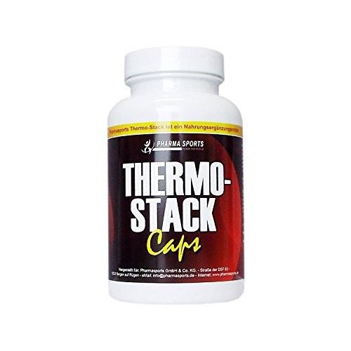 Thermo Stack - 100 Kapseln Fatburner Stacker Diät und Appetit Control. Hilfe bei Gewichtsabnahme / Gewichtsverlust / Fettverbrenner -