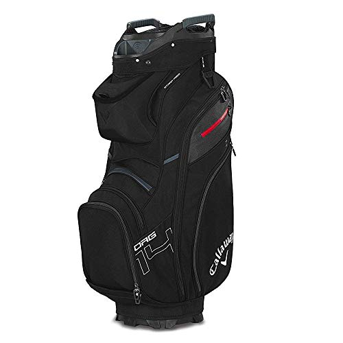 Callaway Golf 2019 Org 14 Cartbag, CART Bag, Black/Titanium/White