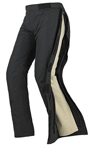 Spidi - Pantaloni da Moto in Tessuto Megarain, Nero, M