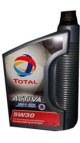 Bidon 1 litre d'huile Total 5w30 C2 Activa INEO pas cher