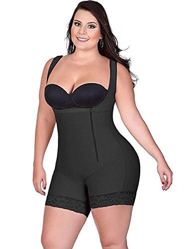 Foto de LaLaAreal Faja Reductora Moldeadora Cintura Mujer Body Shaper Corsé Sin Costuras Para Shaperwear Postparto