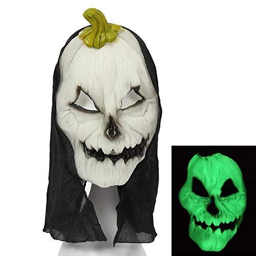 MROSW Haunted House of Horror Helle Halloween-Maske Furchtsame Grimassenmaske , 05