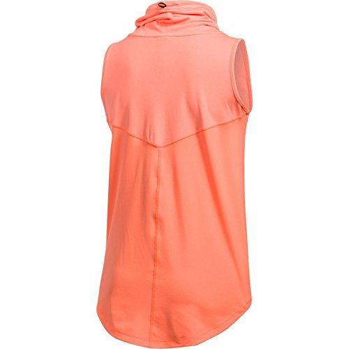 Under Armour Womens CoolSwitch Thermocline Sleeveless London Orange/Stunning Coral