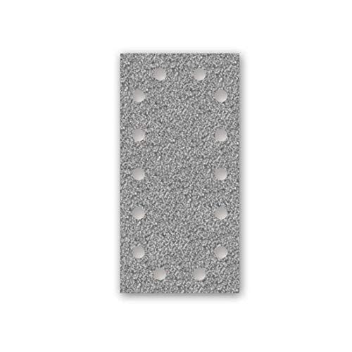 MENZER Platinum Klett-Schleifblätter, 230 x 115 mm, 14-Loch, Korn 40, f. Schwingschleifer, Halbedelkorund (50 Stk.)