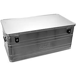 Alutec - Caja de aluminio, tamaño grande (140 l)