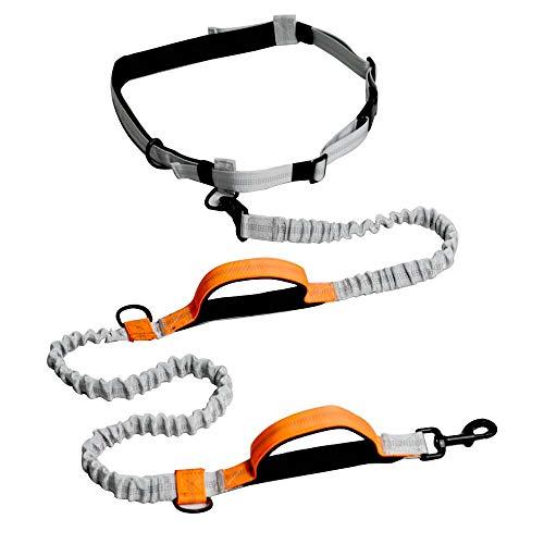 QNMM Haustier Nylon Leine Set Pet Sport Anzug Reflektierende Traktion Seil Anzug Hund Running Kit Mit Traktion Training Hundeleine - Nylon Running-anzug