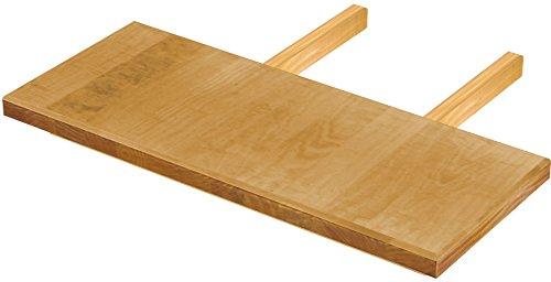 Brasilmöbel Ansteckplatten 30x73 Honig Rio Classiko oder Rio Kanto - Pinie Massivholz Echtholz - Größe & Farbe wählbar - für Esstisch Tischverlängerung Holztisch Tisch Erweiterung ausziehbar