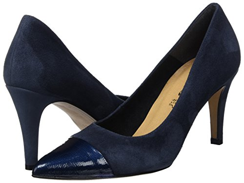 Tamaris Damen 22427 Pumps, Blau (Navy 805), 38 EU -