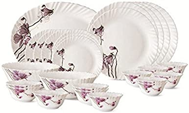 Larah Lilly Blossom Dinner Set, 33 pcs