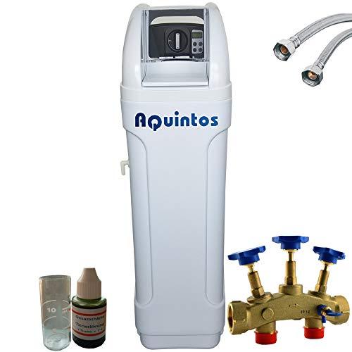 Wasserenthärter Entkalker MKB 60 Eco-Line von Aquintos Wasseraufbereitung | Entkalkungsanlage mit Bypass-Funktion für 100% kalkfreies Wasser | Komplettset mit 3 Jahren Herstellergarantie
