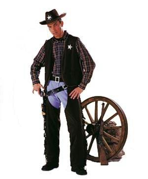 PARTY DISCOUNT Cowboy-Weste Gr. 56-58