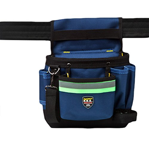 Heheja Multifunktions Werkzeugtaschen Taillenbeutel für Wartungspersonal Woodworking Elektriker's Beutel Als Bild1