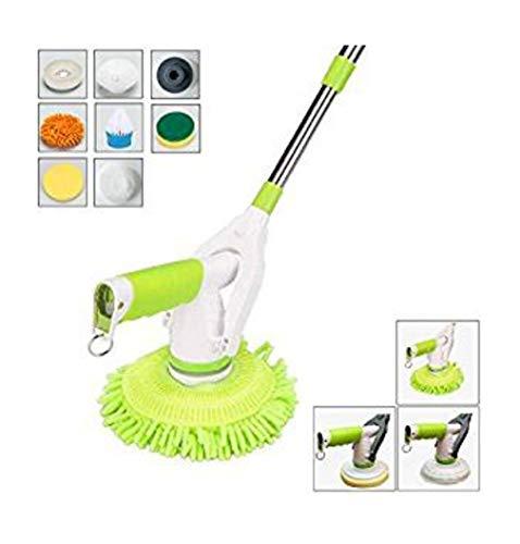 Drahtloser Elektrischer Drehmop-Reinigungs-Handspinnender Mopp-Wieder Aufladbare angetriebene Boden-Reiniger-Wäscher -