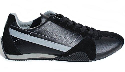 Sportschuhe Turnschuhe Sneaker Sport Schuhe Schwarz grau 44