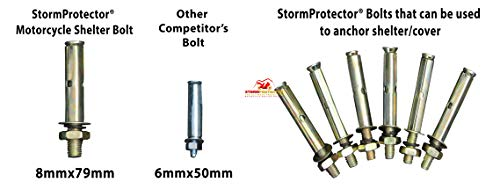 StormProtector® Fahrradzelt / Motorradgarage - 9