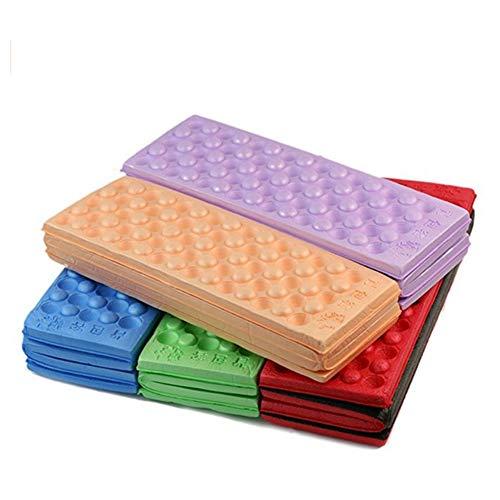 Beito Faltbare Fußmatte aus Schaumstoff, Kniekissen, faltbar, für Camping, Picknick, zufällige Farbe