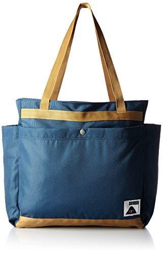 POLER Damen Schultertasche Bag Totes Pack Blue Steel