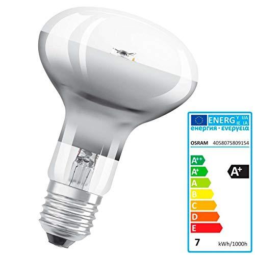 Leuchte LEDVANCE Parathom R80Advanced 7W E27bis + Warm White LED Bulb–LED Bulbs (Warm White, Grey, A +, 50/60, 220–240, 7kWh)