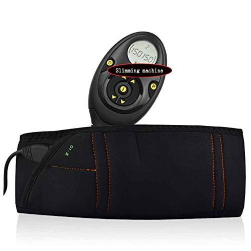 LLYY Massaggianti Cintura Dimagrante Elettrico, Slimming Belt Muscolo Addominale Attrezzature per Il Fitness/Intelligente Cintura Addominale 10 modalità