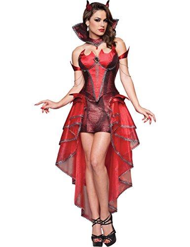 Palace Queen Kostüm (Teufels Königin Kostüme)