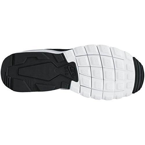 NIKE Herren Air Max Motion LW PREMIUM Schwarz Grau Leder Mesh Sneaker 861537 Neu Mehrfarbig
