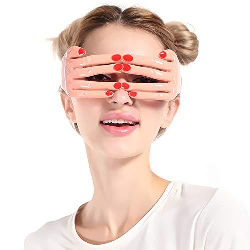 Global Brands Online Lustige Maske Finger Form GläSer Geburtstagsparty Halloween Dekoration Eyewear Nachtclub Liefert Prop (Halloween-maske Lustige Finger)