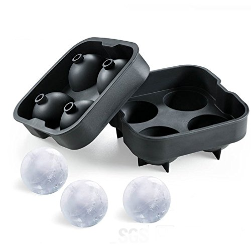 41 %2BjeepOhL BEST BUY #14G Kitty Durable Ice Ball MouldFast Release Ice Ball Maker Tray, Flexible Silicone Ice Cube Tray, Ultra Slow Melting Ice Spheres Perfectly round, WhiskyGlasses(Radom color) price Reviews uk