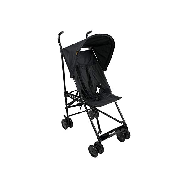 BABYWAY Stroller Buggy Pushchair - Easy Fold Babyway Suitable for children from 6 months to 36 months Swivel front wheels for ease of use and lockable rear wheels for increased safety Fitted with a five point safety harness for increased safety while you wheel your little one around 3