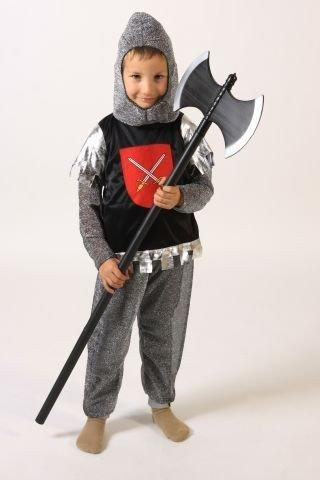 Foxxeo 10027 | Ritterkostüm für Kinder Kinderkostüm Ritter Kostüm Gr. 98/104, 110/116, 122/128, 134/140, Größe:110/116